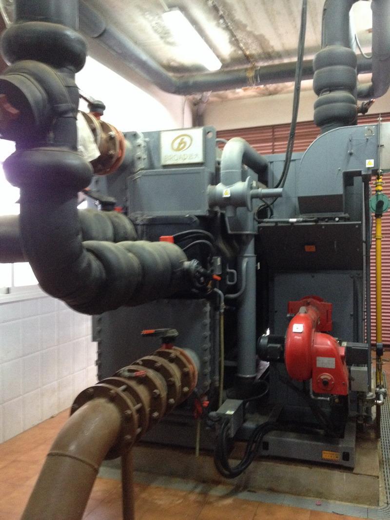 Enfriadora de evaporación para instalaciones en complejo hotelero en Roquetas de Mar