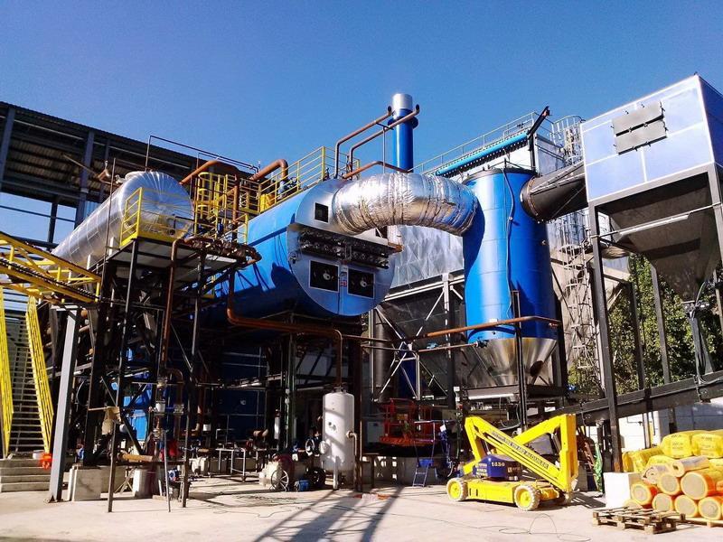 Equipos de biomasa | Caldera
