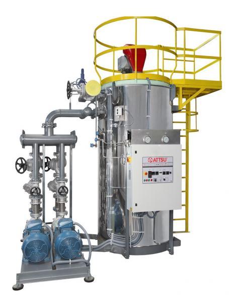 Caldera de aceite térmico | Modelo FT 600 - Vertical