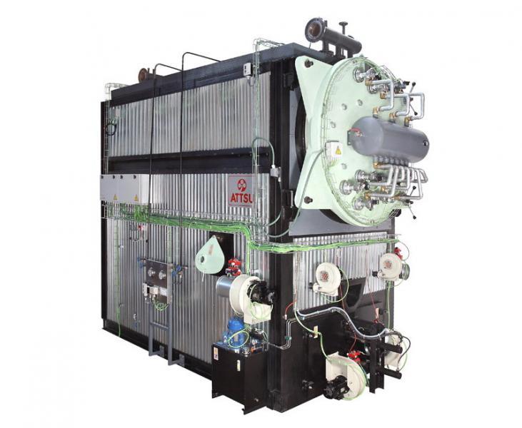 Caldera de aceite térmico | Modelo FT - CS
