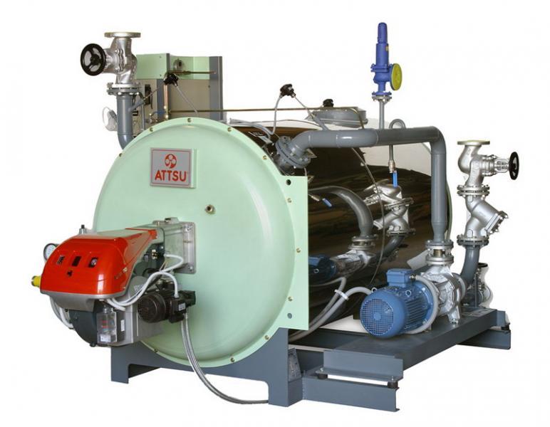 Caldera de aceite térmico | Modelo FT 500 - Horizontal