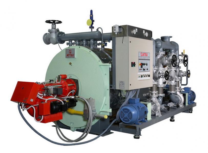 Caldera de aceite térmico | Modelo FT 2000 Hz - Horizontal