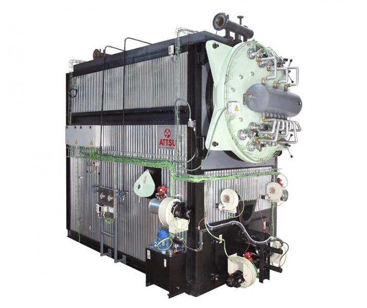 Caldera de aceite térmico | Modelo FT - MP (Parrilla Móvil)