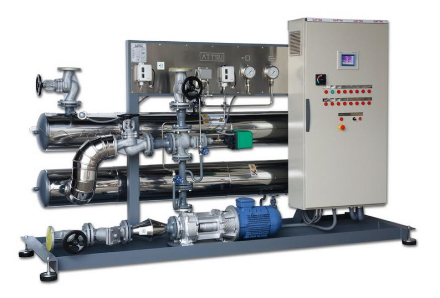 Caldera de aceite térmico | Modelo FTE