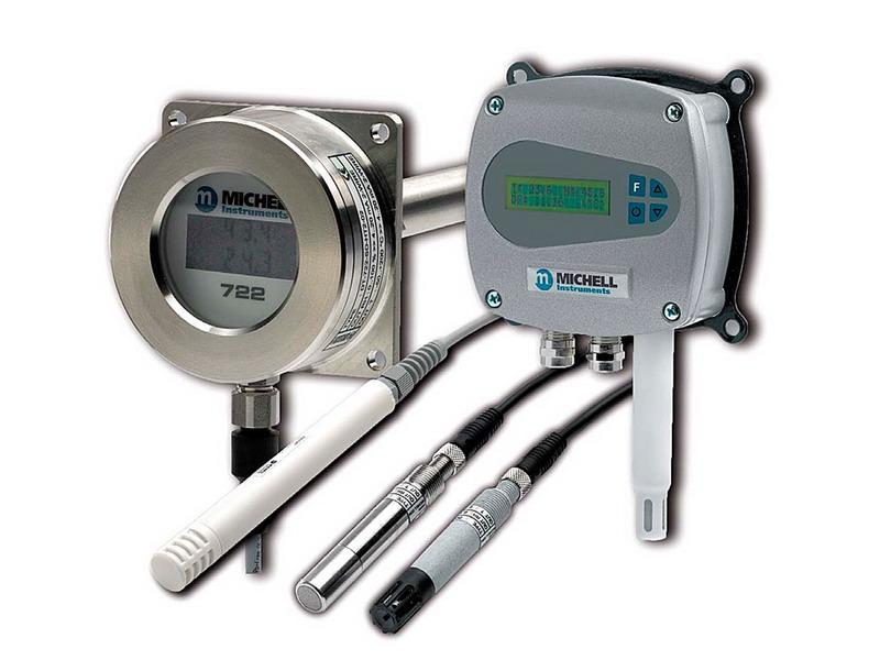 Sensores y transmisores de humedad